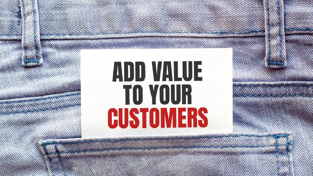 Mehrwerte für unique Kundenversprechen